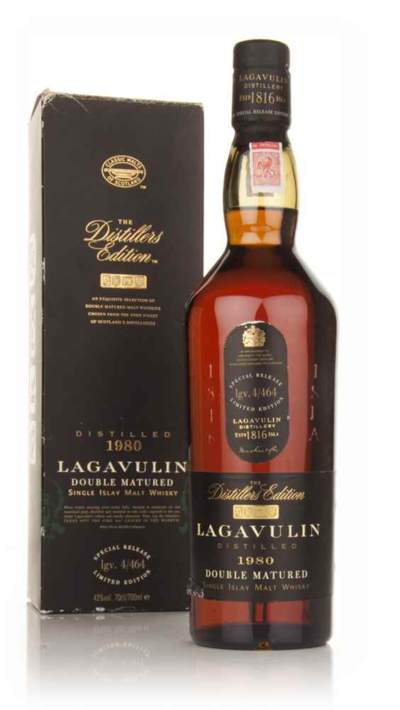 Lagavulin 1980 (bottled 1999) Pedro Ximénez Cask Finish - Distillers Edition