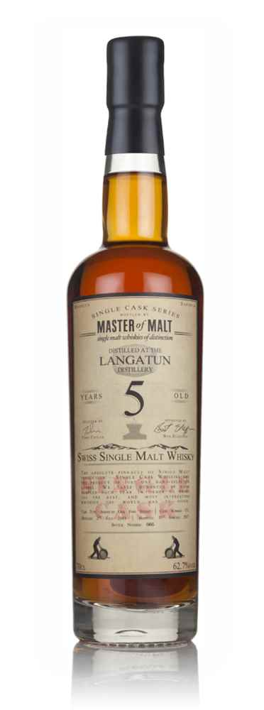 Langatun 5 Year Old 2011 - Single Cask (Master of Malt)