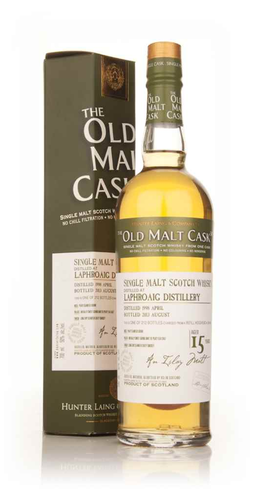 Laphroaig 15 Year Old 1998 (cask 9932) - Old Malt Cask (Hunter Laing)