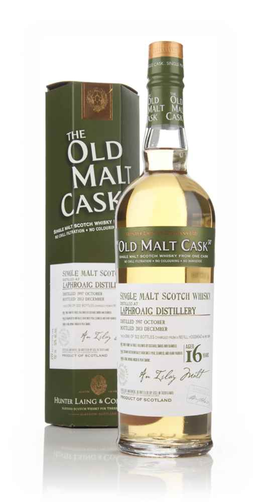 Laphroaig 16 Year Old 1997 (cask 10260) - Old Malt Cask (Hunter Laing)