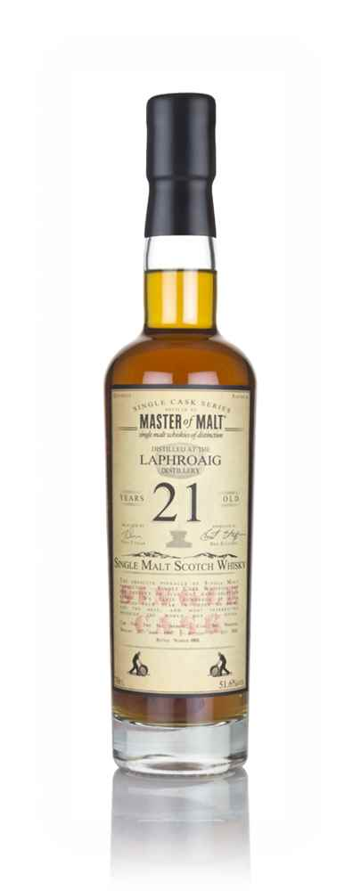 Laphroaig 21 Year Old 1997 - Single Cask (Master of Malt)