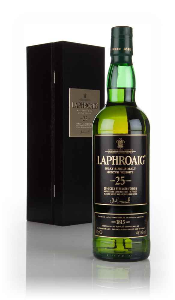 Laphroaig 25 Year Old Cask Strength (2014 Release)