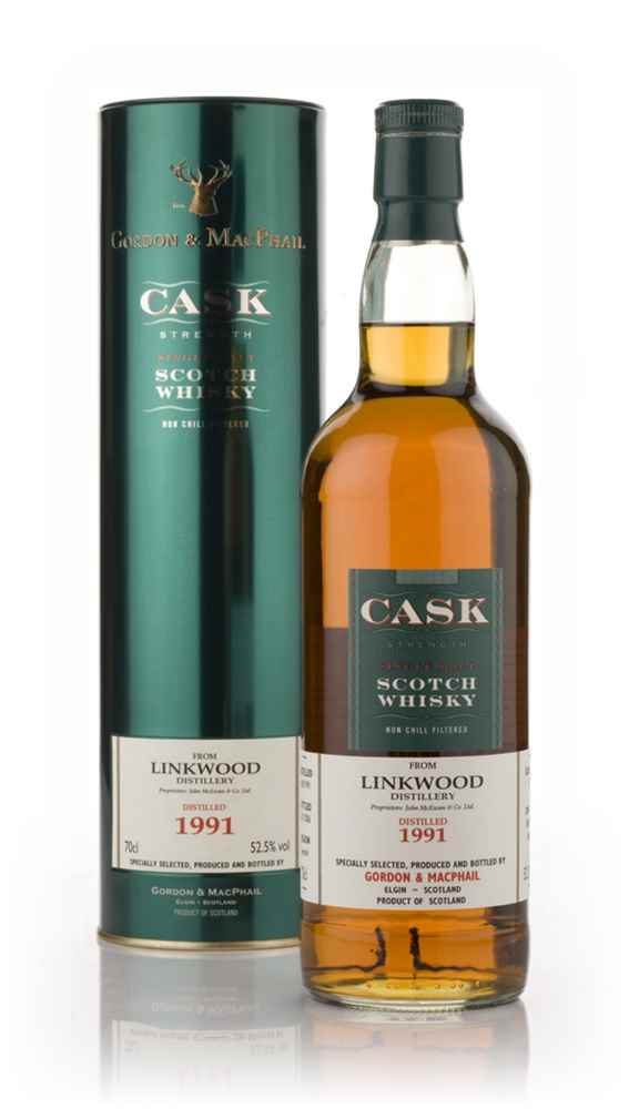 Linkwood 1991 - Cask Strength (Gordon and MacPhail)
