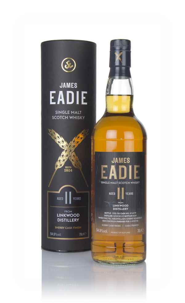 Linkwood 11 Year old 2007 (cask 804779) - James Eadie