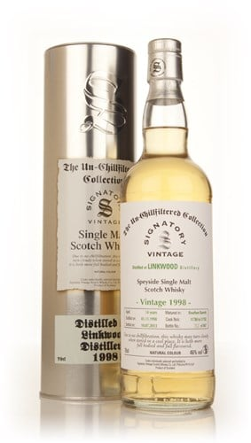 Linkwood 14 Year Old 1998 (casks 11780-11782) - Un-Chillfiltered Collection (Signatory)