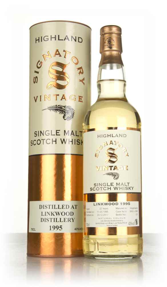 Linkwood 22 Year Old 1995 (casks 5959 & 5960) - Signatory