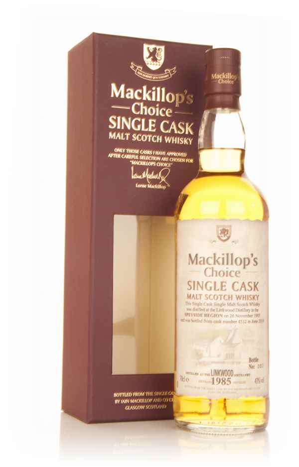 Linkwood 24 Year Old 1985 (cask 4532) - Mackillop's Choice