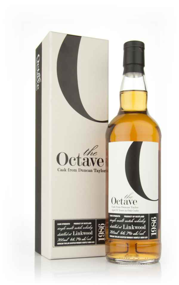 Linkwood 25 Year Old 1986 - The Octave (Duncan Taylor)