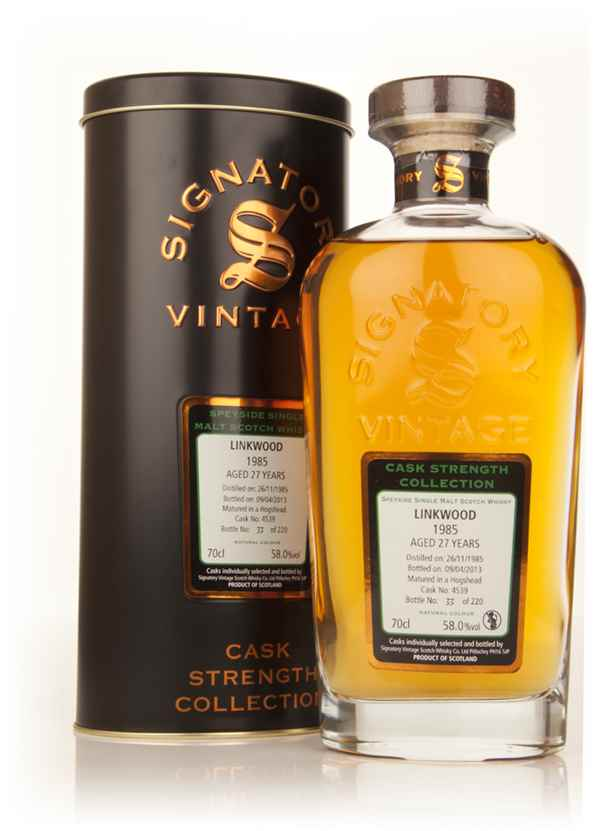 Linkwood 27 Year Old 1985 (cask 4539) - Cask Strength Collection (Signatory)