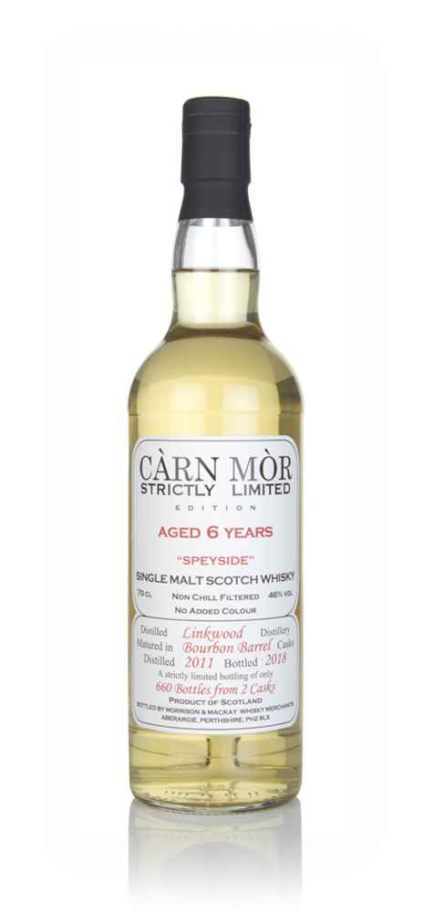 Linkwood 6 Year Old 2011 - Strictly Limited (Càrn Mòr)