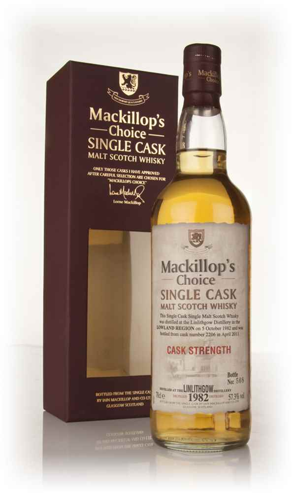 Linlithgow 28 Year Old 1982 (cask 2206) - Mackillop's Choice