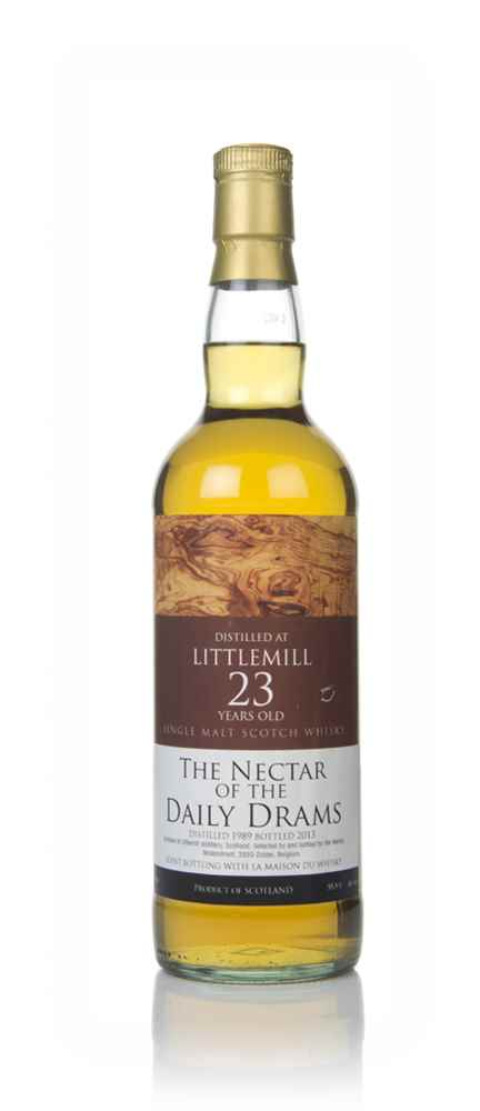 Littlemill 23 Year Old 1989 - The Nectar of The Daily Drams