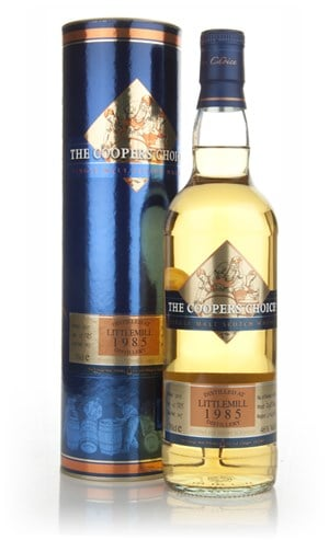 Littlemill 25 Year Old 1985 - The Coopers Choice (The Vintage Malt Whisky Co.)