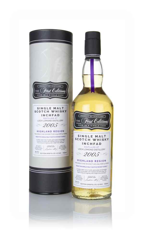 Inchfad 14 Year Old 2005 (cask 16785) - The First Edition's (Hunter Laing)