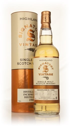 Inchmurrin 15 Year Old 1996 (cask 24+25) (Signatory)