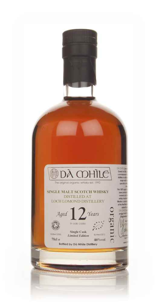 Loch Lomond 12 Year Old - Organic Single Malt (Dà Mhìle)