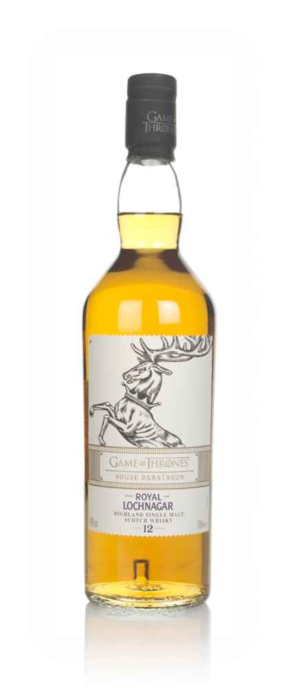 House Baratheon & Royal Lochnagar 12 Year Old - Game of Thrones Single Malts Collection