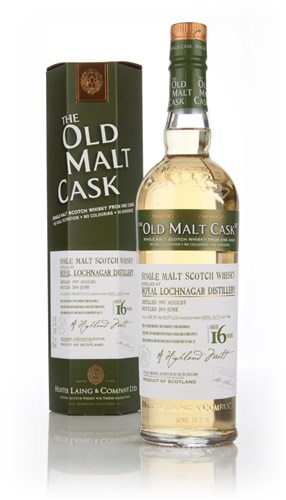 Royal Lochnagar 16 Year Old 1997 (cask 10588) - Old Malt Cask  (Hunter Laing)