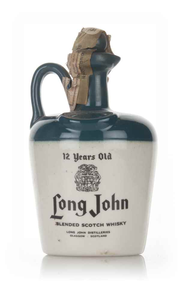 Long John 12 Year Old Ceramic Jug - 1970s