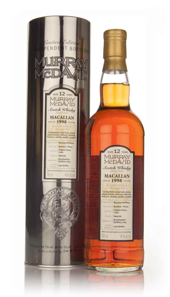 Macallan 12 Year Old 1998 (Murray McDavid)