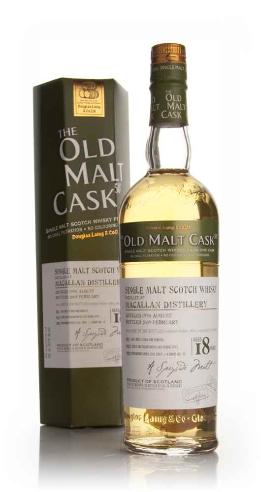 Macallan 18 Year Old 1990 - Old Malt Cask (Douglas Laing)