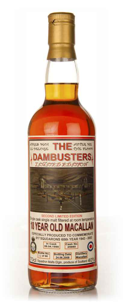 Macallan 18 Year Old - The Dambusters