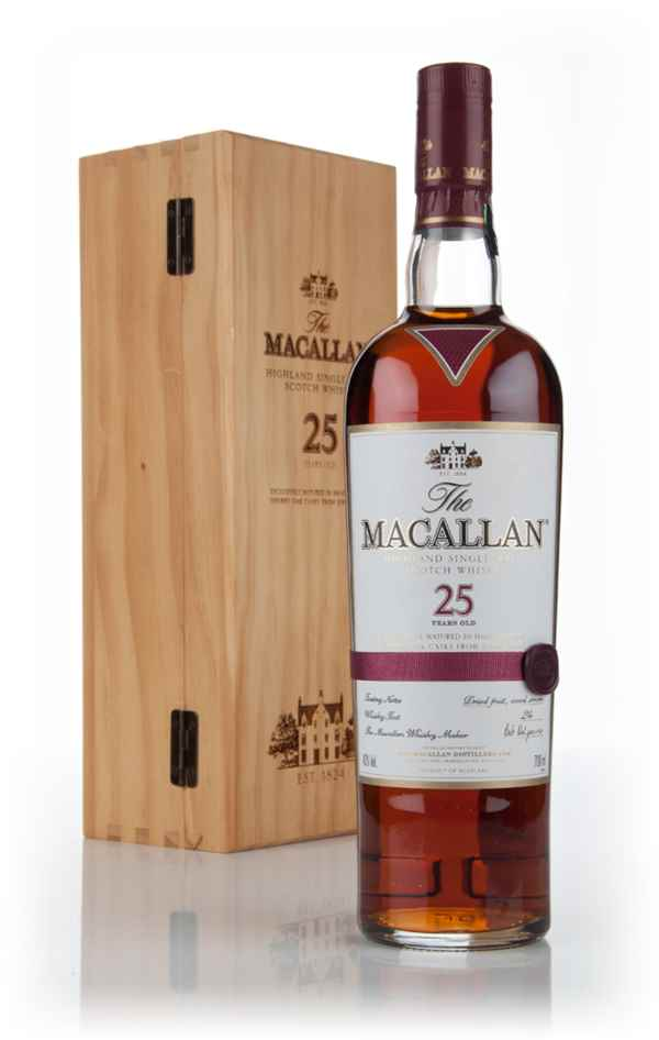 The Macallan 25 Year Old Sherry Oak (Old Bottling)