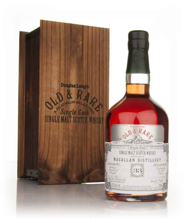 Macallan 33 Year Old 1977 - Old and Rare Platinum (Douglas Laing)