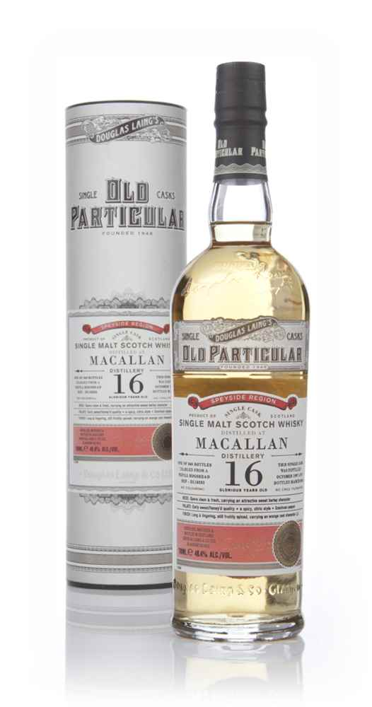 Macallan 16 Year Old 1997 (cask 10235) - Old Particular (Douglas Laing)