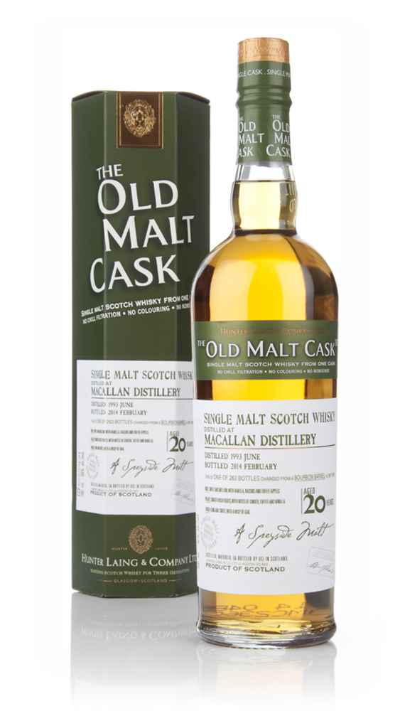 Macallan 20 Year Old 1993 (cask 10290) - Old Malt Cask (Hunter Laing)
