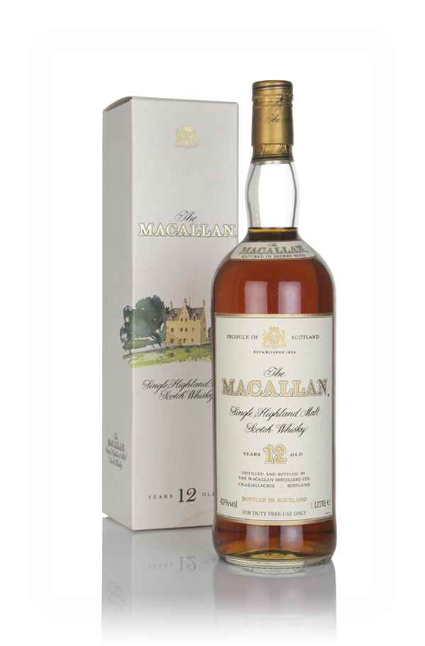 The Macallan 12 Year Old (1L) - 1980s