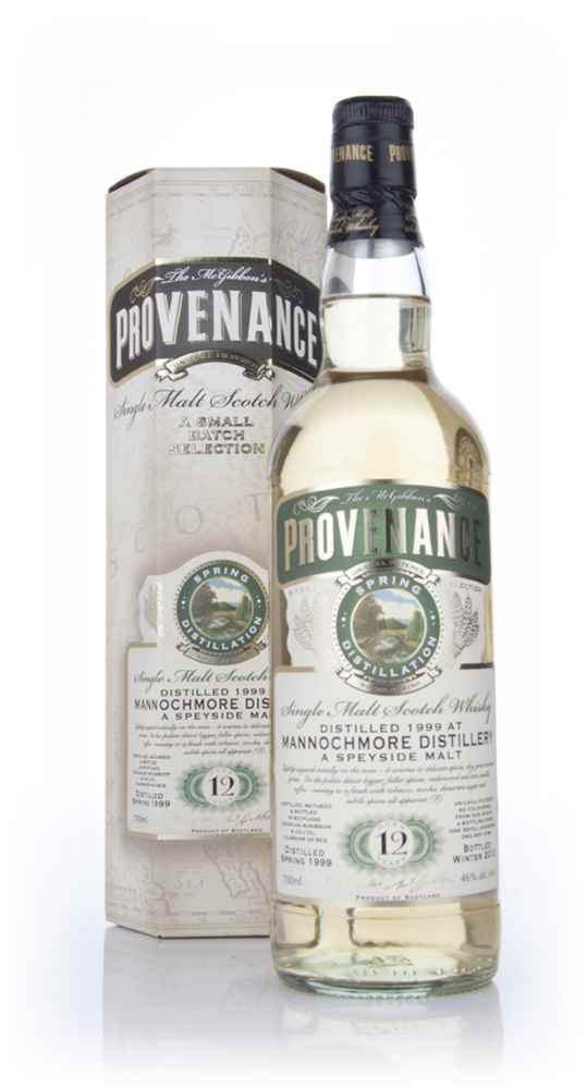 Mannochmore 12 Year Old 1999 - Provenance (Douglas Laing)