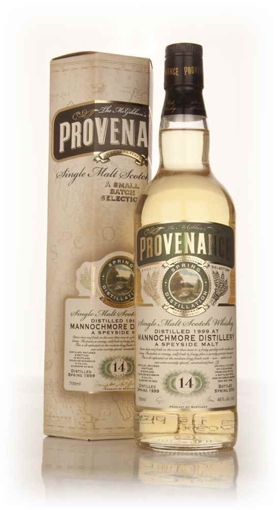 Mannochmore 14 Year Old 1999 (cask 9766) - Provenance (Douglas Laing)