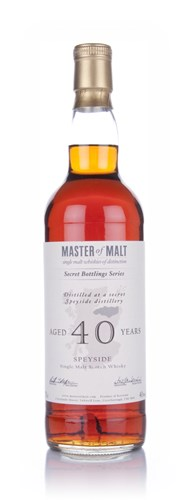 Master of Malt 40 Year Old Speyside (1st Edition)
