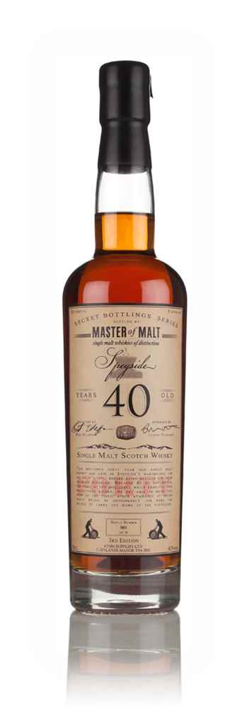 Master of Malt 40 Year Old Speyside (3rd Edition)