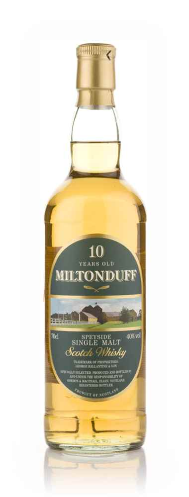 Miltonduff 10 Year Old (Gordon and MacPhail)