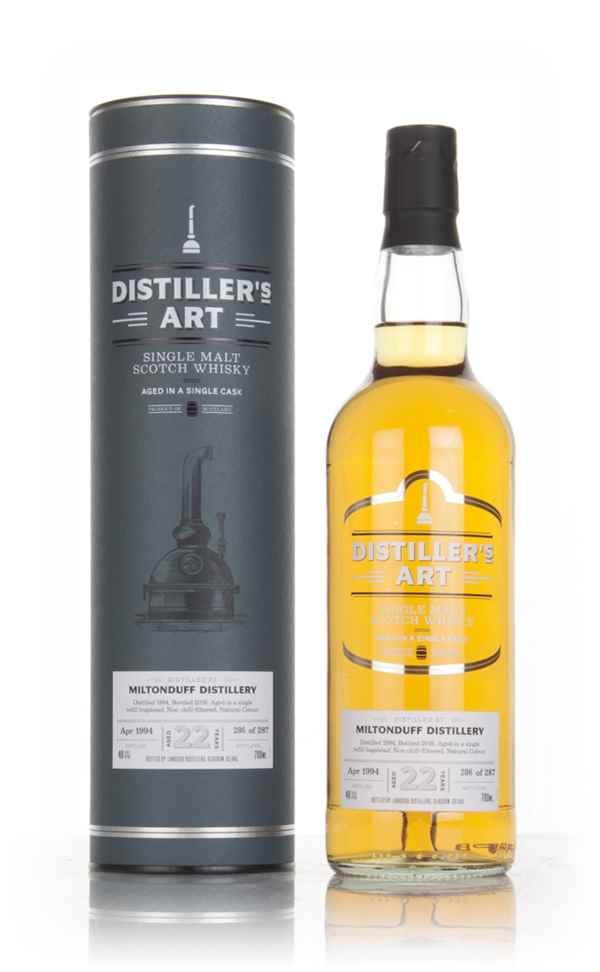 Miltonduff 22 Year Old 1994 - Distiller's Art (Langside)