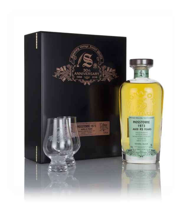 Mosstowie 45 Year Old 1973 (cask 7622) - 30th Anniversary Gift Box (Signatory)