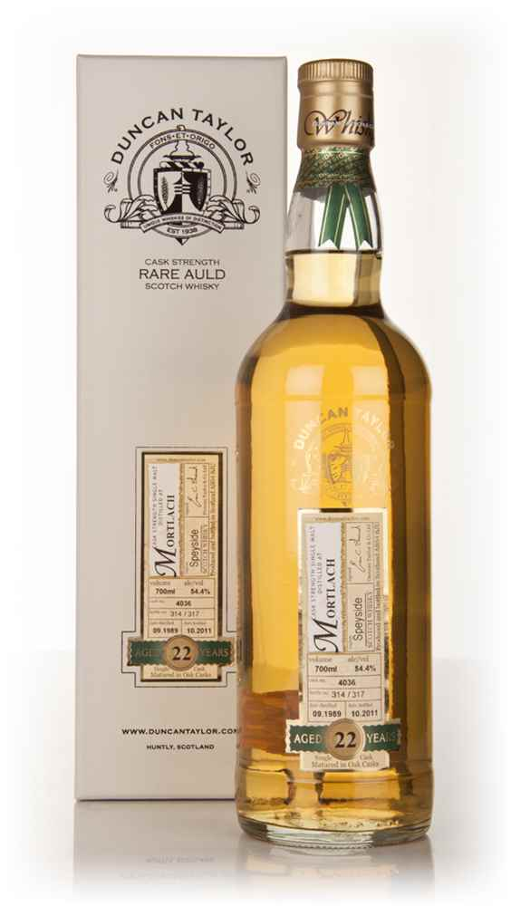 Mortlach 22 Year Old 1989 - Rare Auld (Duncan Taylor)