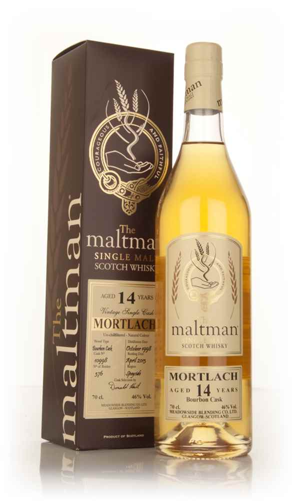 Mortlach 14 Year Old 1998 (cask 10998) - The Maltman