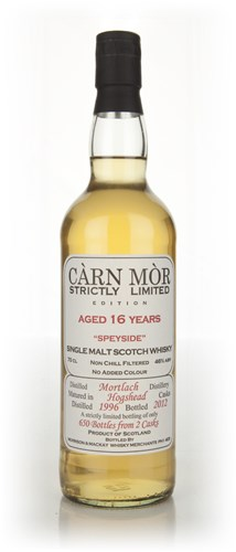 Mortlach 16 Year Old 1996 - Strictly Limited (Càrn Mòr)