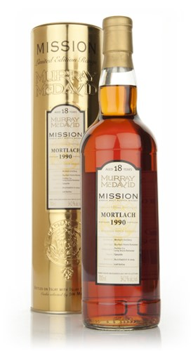 Mortlach 18 Year Old 1990 - Bour Vos Romanne