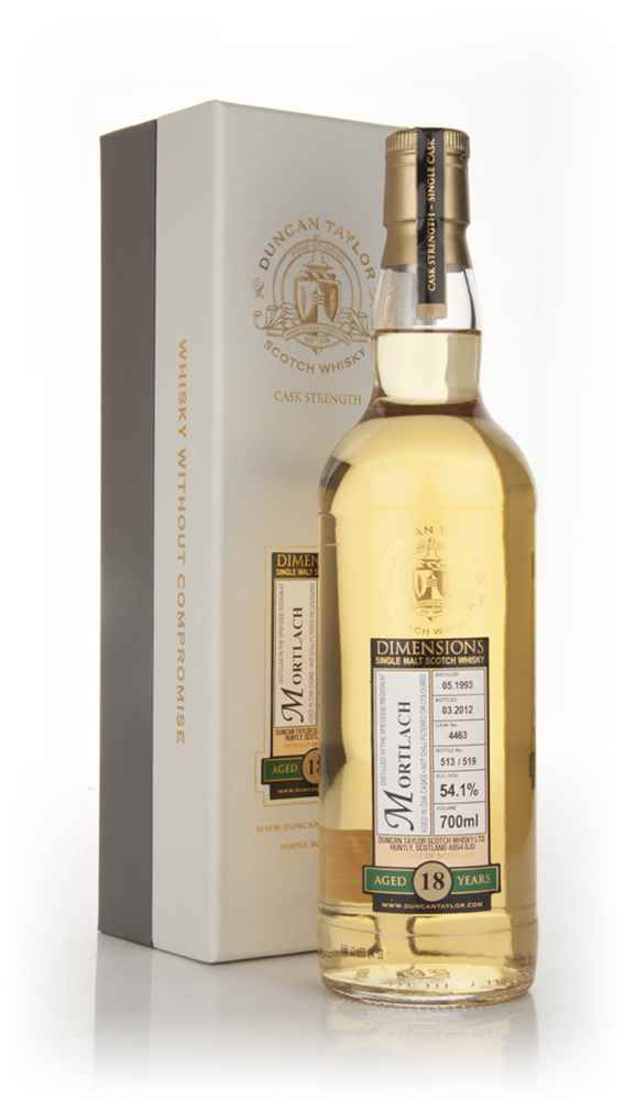 Mortlach 18 Year Old 1993 - Dimensions (Duncan Taylor)