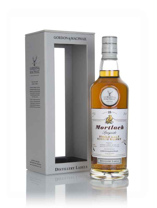 Mortlach 25 Year Old - Distillery Labels (Gordon & MacPhail)