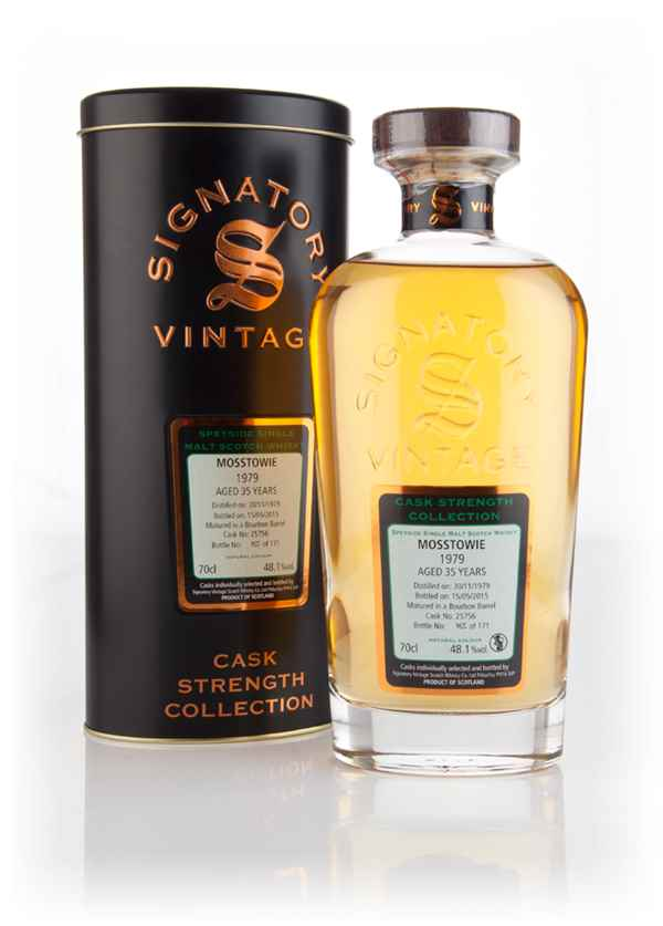 Mosstowie 35 Year Old 1979 (cask 25756) - Cask Strength Collection (Signatory)