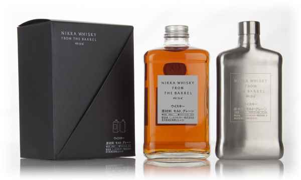 Nikka Whisky From The Barrel with Hip Flask