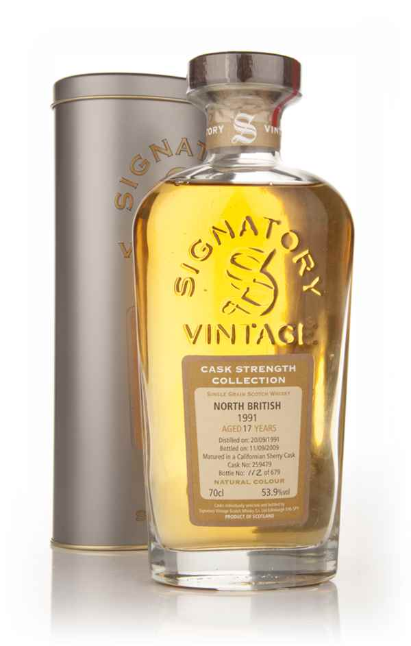 North British 17 Year Old 1991 - Cask Strength Collection (Signatory)