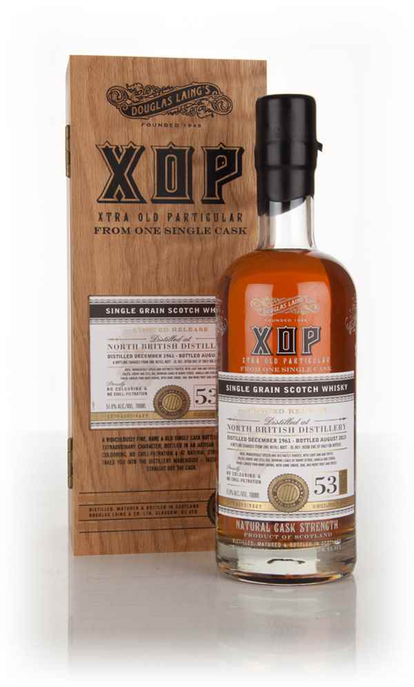 North British 53 Year Old 1961 (cask 10708) - Xtra Old Particular (Douglas Laing)