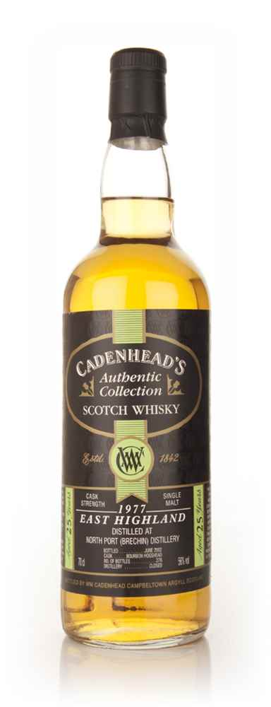 North Port (Brechin) 25 Year Old 1977 - Authentic Collection (Cadenhead's)