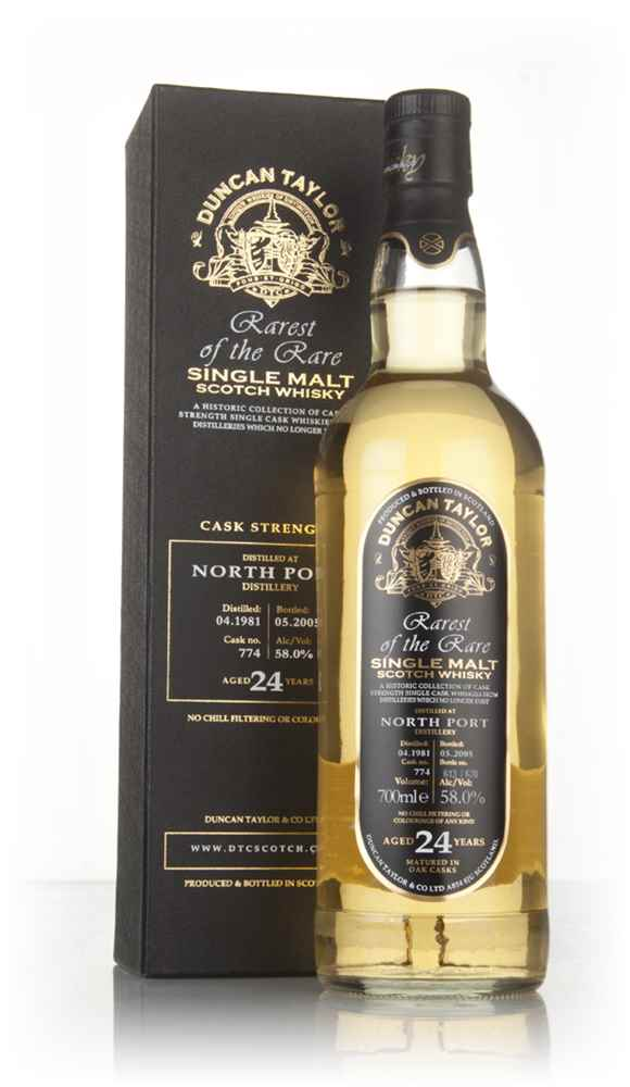 North Port 24 Year Old 1981 - Rarest of the Rare (Duncan Taylor)